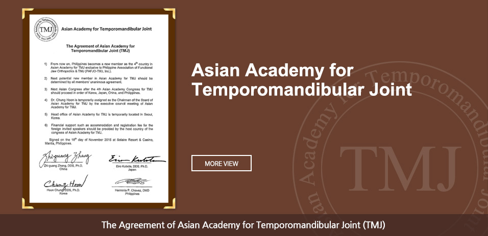 Asian Academy for Temporomandibular Joint