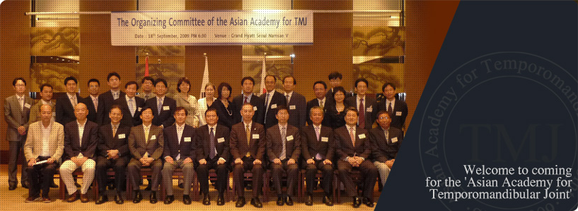 Welcome to coming for the 'Asian Academy for Temporomandibular